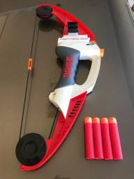 Lançador de Dardos Nerf N-Strike Mega - Lightning Bow ? Hasbro - Importado