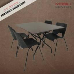 Mesas e Cadeiras para Refeitórios, Cozinha Industrial e Restaurantes - Direto da Fábrica
