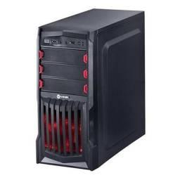 Usado, Gabinete 4b Atx Vinik Gamer Vx Gaming Thunder V2 Led Vermelh comprar usado  Curitiba