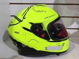 Capacete MT Thunder 3 Neon Yellow