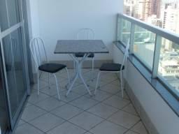 Apartamento temporada,frente praia Itapuã V.Velha,com 2 quartos sendo 1 suite