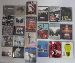 Lote U2 / Cds , Dvds & 1 Blu-ray