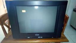 "Tv 21"" Phillips tela plana"