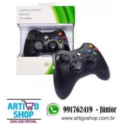 Controle Joystick Xbox 360 Sem Fio Wireless Inova