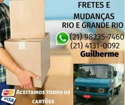 Frete e mudanças Melhor preço do Rio caminhão baú