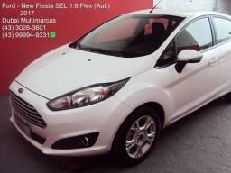 Ford - New Fiesta Hatch SEL 1.6 Flex (Aut.) - 1ª Dona - Periciado - 2017