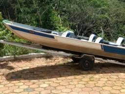 Canoa com volante