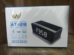 Rádio Relógio com despertador
