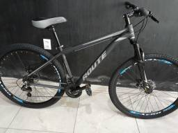 Bike aro 29 Route, com 21 velocidades, nova