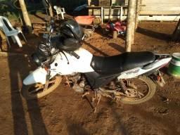, vendo esta moto r$ 1500 para ramal - 2013