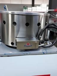Título do anúncio: PR-70G Tacho Fritador de Mesa, Tacho Pasteleiro a Gás Alta Pressão 7 Litros - Progás