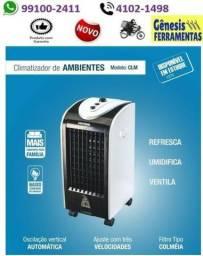 Climatizador - umidifica , ventila, refresca - Ventisol - 110v- entrega grátis á domicilio