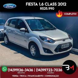 Fiesta 1.6 Class Completo - 2012
