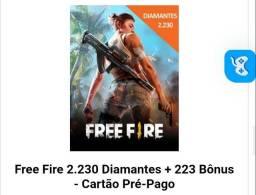 RECARGA DE DIAMANTES FREE FIRE