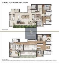 Apartamento Duplex com 4 dormitórios à venda, 325 m² por R$ 4.577.235 - Real Parque - São