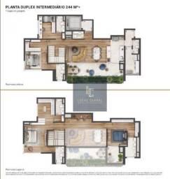 Apartamento Duplex com 4 dormitórios à venda, 244 m² por R$ 3.436.447 - Real Parque - São
