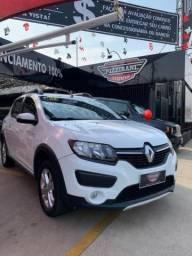 Renault sandero 2018 1.6 16v sce flex stepway 4p manual