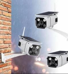 Câmera Solar Wifi Exterior últimas unidades