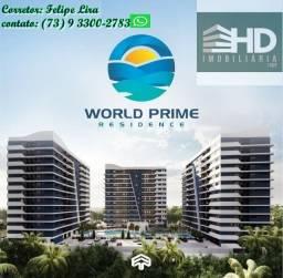 Lançamentos O World Prime Residence na praia do Sul em Ilhéus -BA