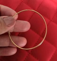 Oferta brinco argola ouro 18k