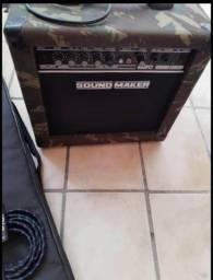Amp/cubo para baixo B20 Sound Maker