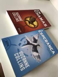 Livros de Jogos Vorazes Promoção