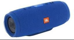 Caixa de som JBL Charge 3 portátil com bluetooth black/blue