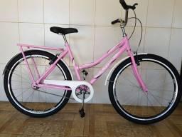 Bicicleta aro 26 aero nova ultra rosa
