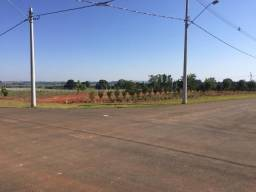 Terreno 516 m², esquina, asfalto, condomínio Manacá, Imobiliária Paletó