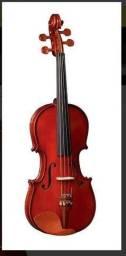 Violino Eagle Ve 421 1/2 Completo Com Case + Breu + Arco promoção