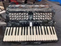 Acordeon De Angelico 120 baixos (Mixer Instrumentos Musicais)