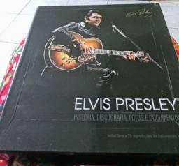 Livro Biografia Elvis Presley (item de colecionador)