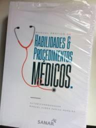 Livro Manual Prático de habilidades e Procedimentos Médicos- Editora Sanar