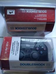 Controle PS3 double shock com fio