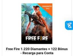 Free fire- RECARGA DE DIAMANTES