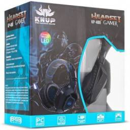 Headset Gamer Knup KP-488 Preto - Minichina