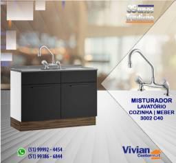 Título do anúncio: Misturador Cozinha Bancada | 3002 C40| Meber