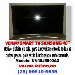 """Smartv Samsung 48""""  R$300,00"""