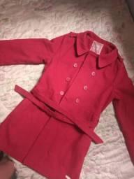 Casaco vermelho da carinhoso Infantil