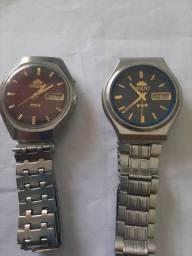 Vendo 2 relógio da marca orient antigo automatico