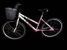 Bicicleta aro 26 com cesta nova