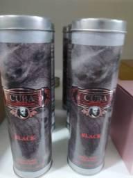 Perfume cuba black original 100ml