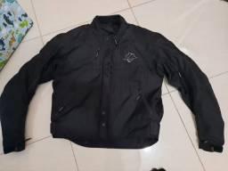 Conjunto de moto calça e jaqueta