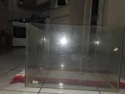 Caixa de vídro (acuario)