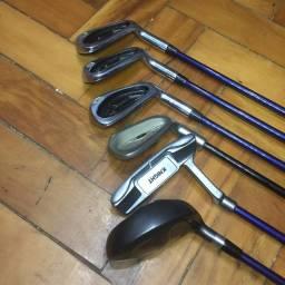 Conjunto de tacos de golf, carbono junior