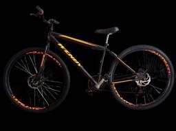 Bike aro 29 freio a disco (nova)