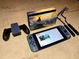 Oportunidade Nintendo Switch edição Zelda - Seminovo - Loja Fisica Centro de Niterói