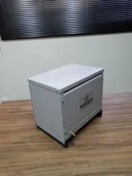 Autotransformador trifasico 25kVA para conversão de tensão 220v/380v+N Reversivel