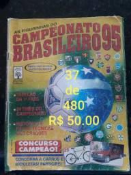 Álbuns de figurinhas brasileirão