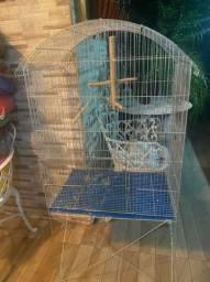 Gaiola para calopsitas ou papagaio